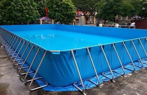 trường tiểu học, bể bơi