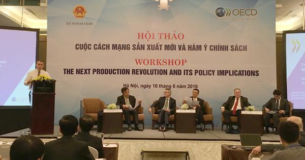 Việt Nam cần tranh thủ cuộc cách mạng công nghiệp mới