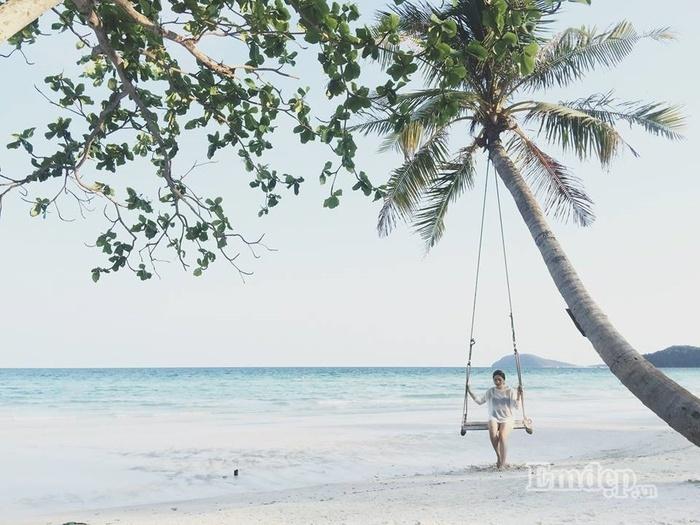 Trải nghiệm, 'hot girl' An Vũ , du khách, du lịch, đảo Phú Quốc