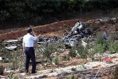 Rơi máy bay, 3 người tử nạn