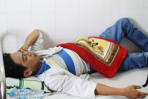 Bệnh nhân bị đánh, bảo vệ bệnh viện, chích điện