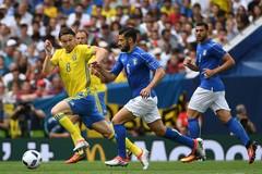 Video bàn thắng Italia 1-0 Thụy Điển