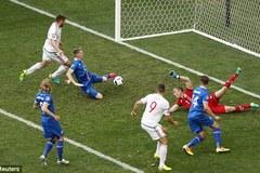 """Iceland """"dâng"""" 1 điểm cho Hungary"""