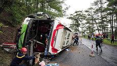 Tai nạn xe khách tại đèo Prenn, 7 người tử nạn