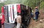 Hiện trường tai nạn thảm khốc, 7 người chết trên đèo Prenn