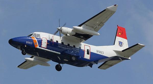 Công điện khẩn tìm kiếm máy bay CASA 212