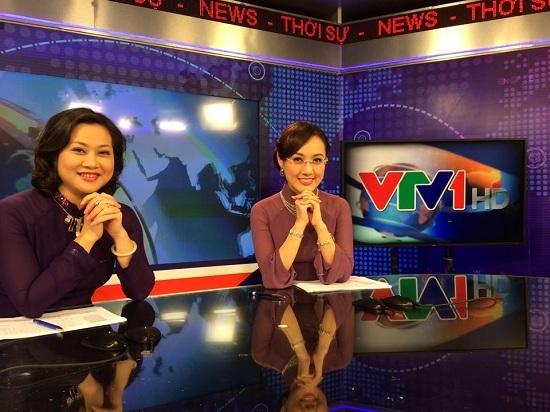 Hình ảnh không lên sóng của BTV hot nhất Thời sự VTV