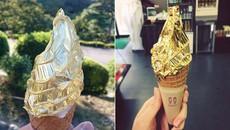 Kem dát vàng Nhật Bản hút khách