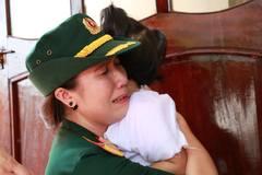 Nghẹn ngào tiễn biệt phi công Đại tá Trần Quang Khải