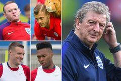 Phế Rooney, Anh thay 6 vị trí trận gặp Slovakia
