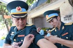 Quê nhà đón phi công Trần Quang Khải trở về