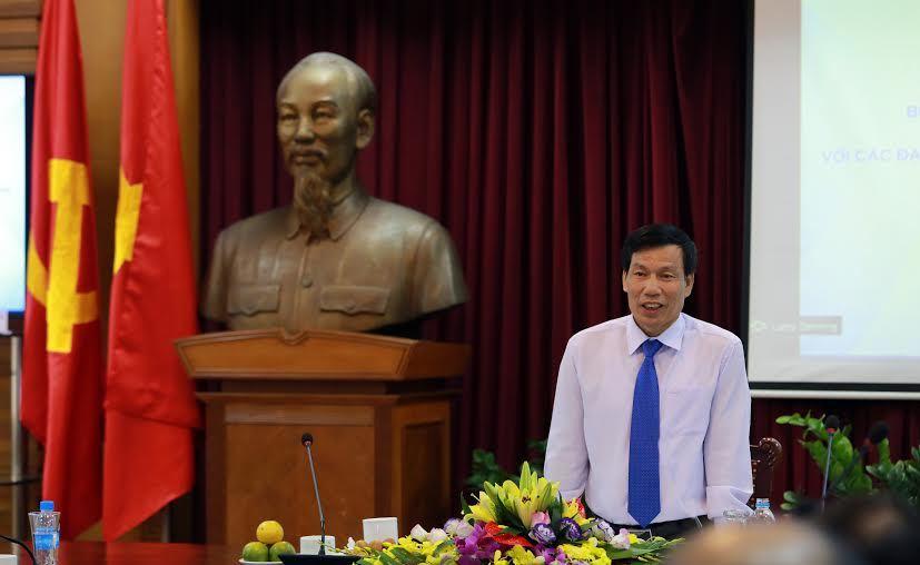 Bộ trưởng Văn hóa tiếp các Đại sứ