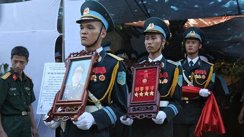 Tiễn đưa phi công Khải ở Bắc Giang