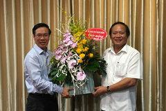 Bộ trưởng TT&TT chúc mừng Ban Tuyên giáo TƯ