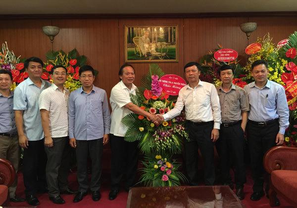 Ban Tuyên giáo, Bộ trưởng Bộ Thông tin và truyền thông