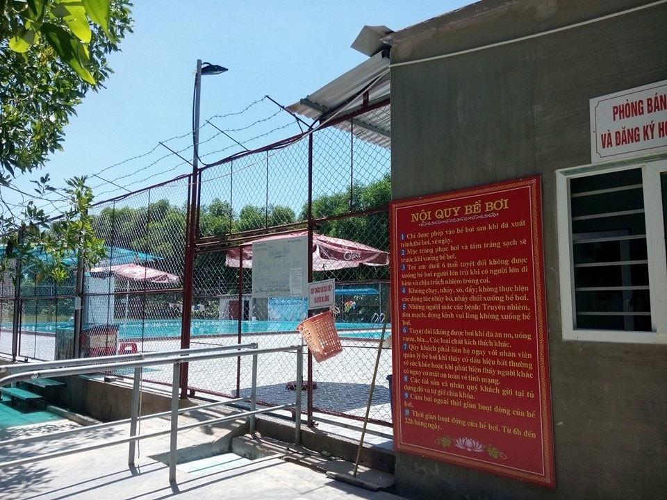 bể bơi, đi bơi mùa hè
