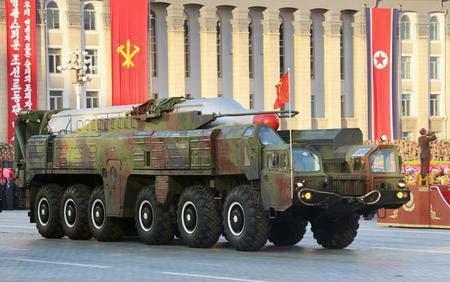 Triều Tiên chuẩn bị phóng tên lửa Musudan?