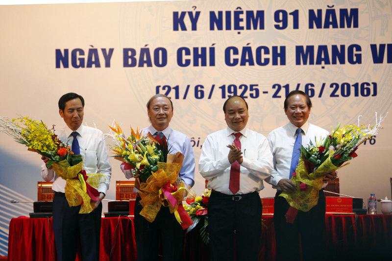 Thủ tướng Nguyễn Xuân Phúc dự gặp mặt kỷ niệm 91 năm báo chí cách mạng Việt Nam