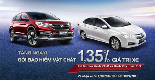 20160621162012 a1 Giá trị khuyến mại hấp dẫn khi mua xe Honda CR V và Honda City