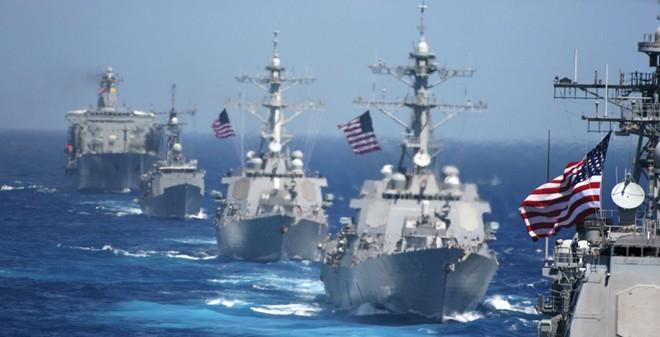 Tàu chiến Mỹ vào Biển Đông, Trung Quốc hung hăng, Mỹ hiện diện ở Biển Đông