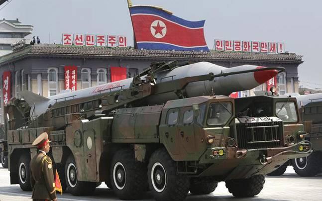Triều Tiên vừa phóng tên lửa liên tiếp