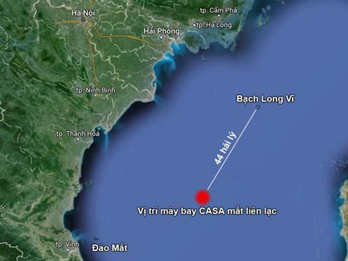 Tư lệnh Cảnh sát biển nói về việc tìm Casa 212