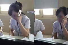 Chuyển việc nhân viên BV Bạch Mai 'nấu cháo' điện thoại