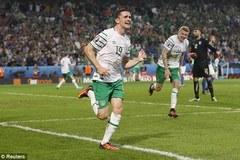 Video bàn thắng Italia 0-1 CH Ireland