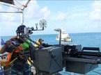 Cảnh sát biển Việt Nam huấn luyện bắn đạn thật trên biển