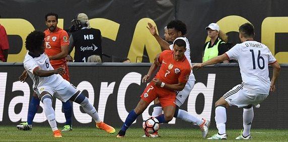 Colombia 0 - 2 Chile(Bán kết Copa America 2016)