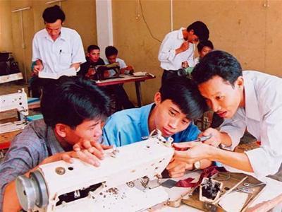 Dạy nghề, lãng phí, lãng phí trong dạy nghề, TS Hoàng Minh Tuấn