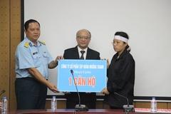 Gia đình phi công Khải được tặng căn hộ ở Hà Nội