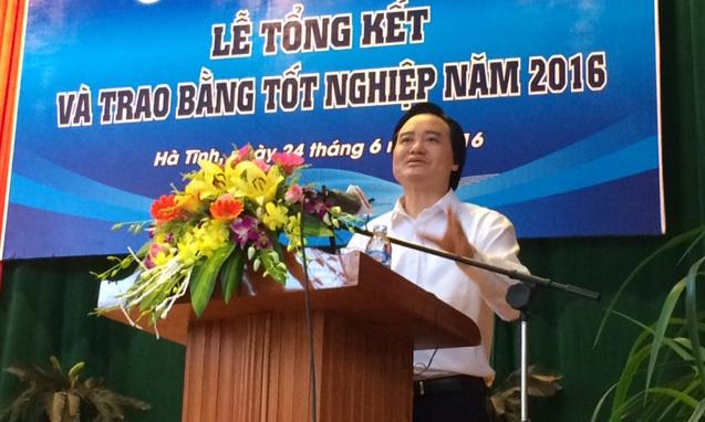 đào tạo thạc sĩ, Bộ trưởng Phùng Xuân Nhạ, Bộ trưởng GD-ĐT
