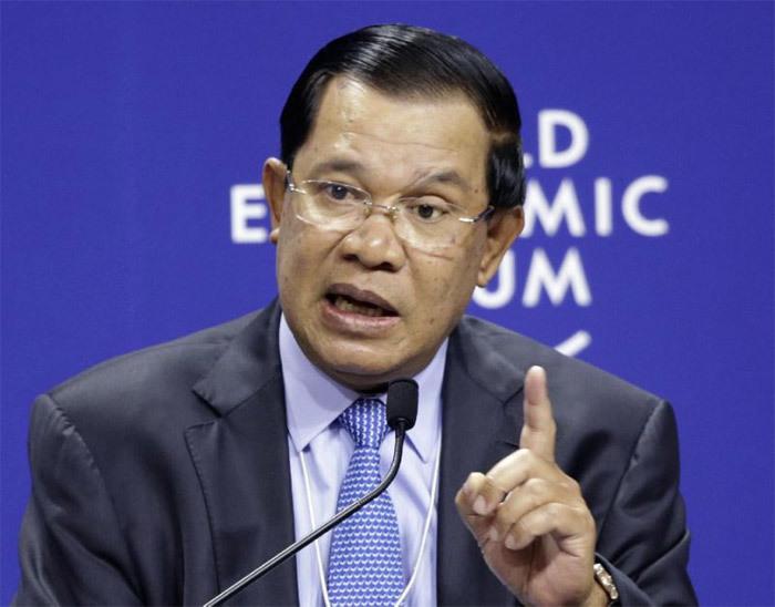 Campuchia, Biển Đông, phán quyết, Trung Quốc, phản đối, Hun Sen, đảng cầm quyền