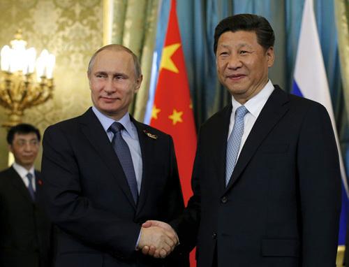Tập Cận Bình, Trung Quốc, Tổng thống Putin, Nga, vũ khí, quân sự