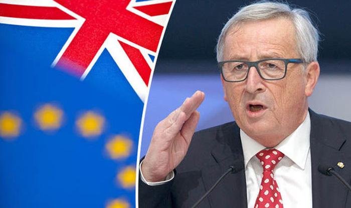 Chủ tịch Ủy ban châu Âu Jean-Claude Juncker muốn Anh bắt đầu đàm phán rời EU ngay lập tức. (Ảnh: Express)