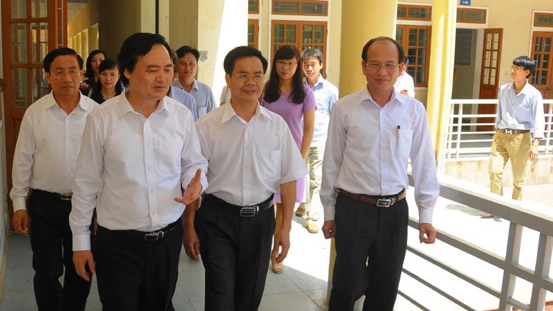 kỳ thi THPT quốc gia 2016, Bộ trưởng Phùng Xuân Nhạ, xét tuyển đại học