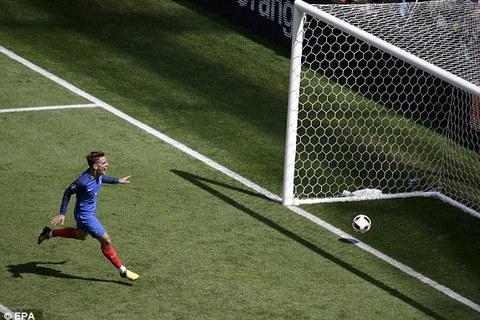 Griezmann 61 goal