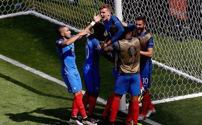 Video bàn thắng trận Pháp 2-1 CH Ireland