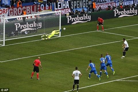Ozil miss penalty