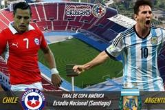 Link sopcast trực tiếp Argentina vs Chile (7h ngày 27/6)