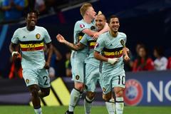 Hazard tỏa sáng, Bỉ thách thức Xứ Wales ở tứ kết