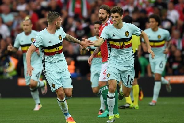 Video bàn thắng Bỉ 4-0 Hungary