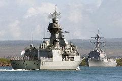Ba tàu khu trục hiện đại nhất của Mỹ ở biển Đông