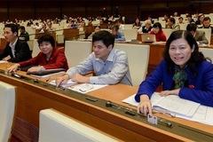 Biểu quyết hoãn thi hành Bộ luật Hình sự 2015