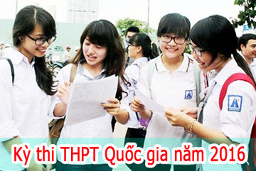 Kỳ thi THPT quốc gia 2016