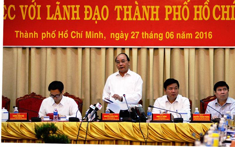 Thủ tướng: TP.HCM phải là hòn ngọc chiếu sáng Viễn Đông
