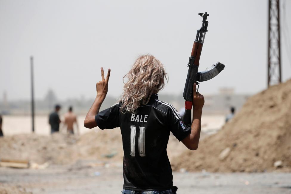 Cảnh rợn người ở nơi IS vừa rút đi
