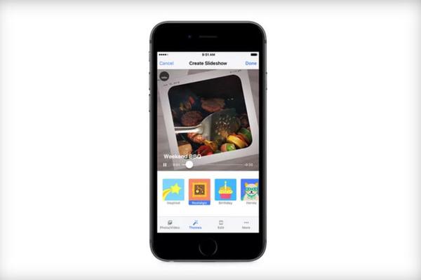 Facebook bổ sung tính năng biến ảnh thành video