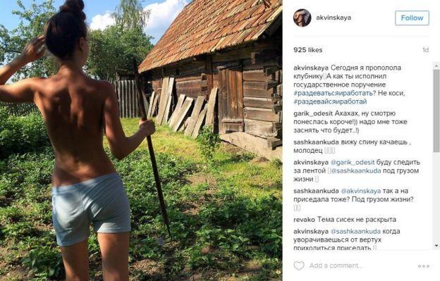 Xem dân Belarus khỏa thân vì lợi ích quốc gia